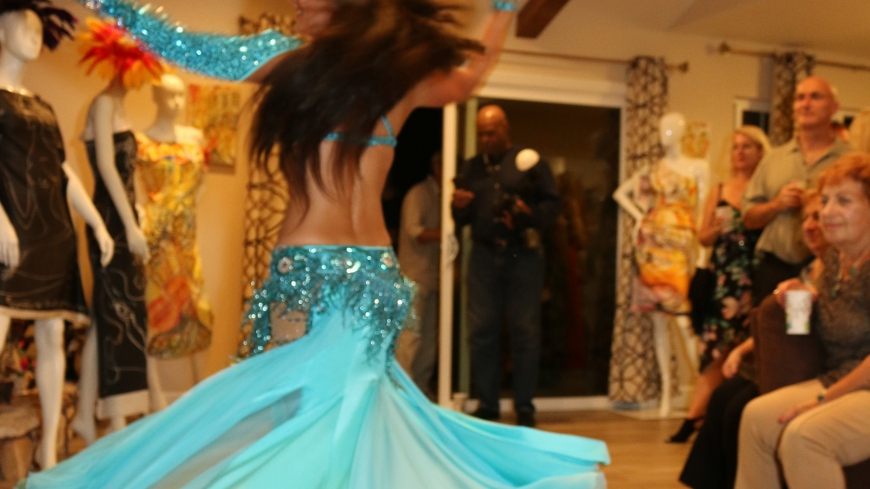 Hire a belly dancer for a party