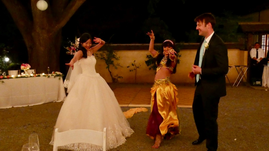 Book a belly dancer for  weddings Bay Area
