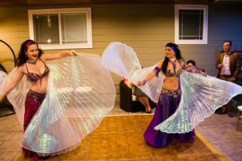 Book two belly dancers for birthday party San Jose